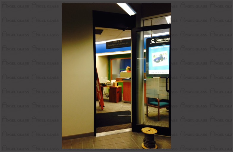 COAST CAPITAL - Entrance Door and Glass Wall