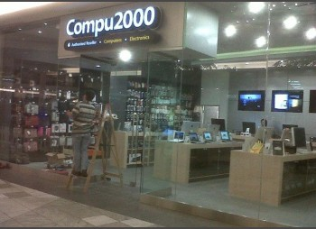 Compu2000 – Glass Wall – Glass Door