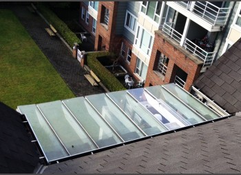 Domus Management – Apartment Glass Canopy System