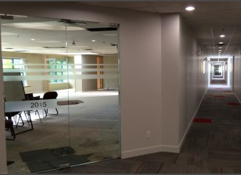 Interior Office Glass Wall and Doors