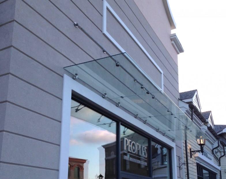 YVR McArthurGlen Designer Outlet – Complete Custom Glass Canopy System
