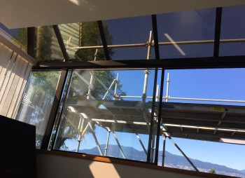 Cracked Skylight glass replacement