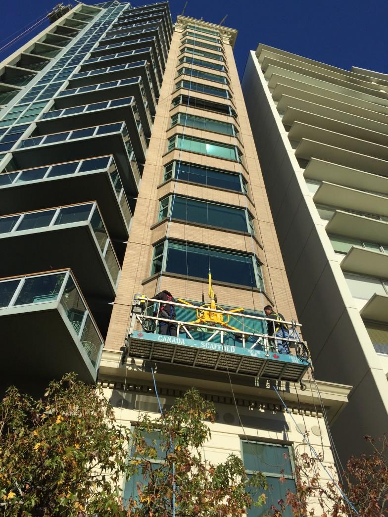 Replacement Aluminum Hi-rise Windows
